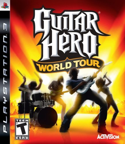 Ps3 Guitar Hero World Tour Game Only