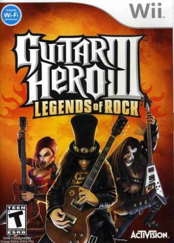 Wii Guitar Hero 3 (software Only)