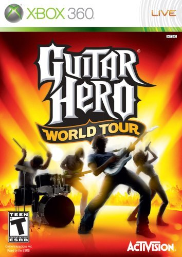 Xbox 360 Guitar Hero World Tour Game Only