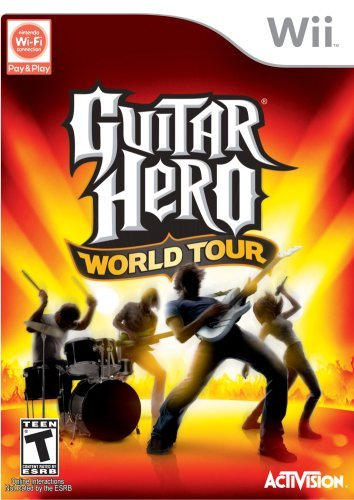 Wii Guitar Hero World Tour