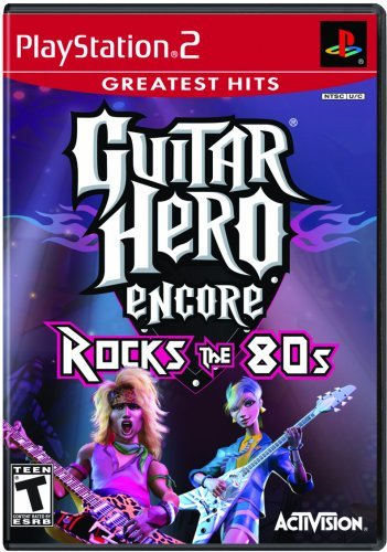 Ps2 Guitar Hero Encore Rocks The 80s
