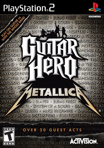 Ps2 Guitar Hero Metallica