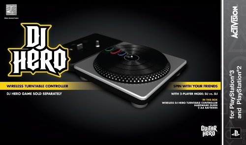 Ps3 Accessory Dj Hero Turntable For Ps2 & Ps3