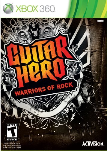 X360 Guitar Hero Warriors Of Rock