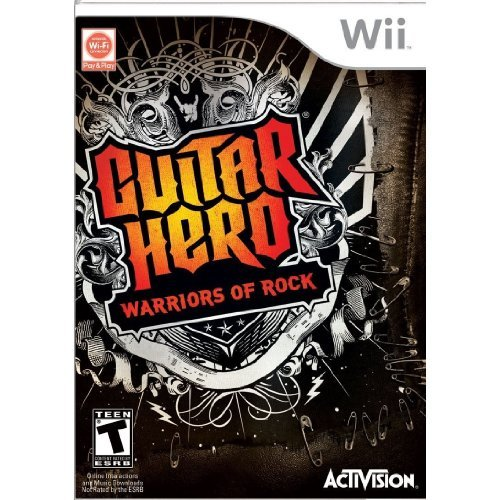 Wii Guitar Hero Warriors Of Rock