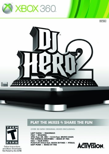 Xbox 360 Dj Hero 2 Software Only