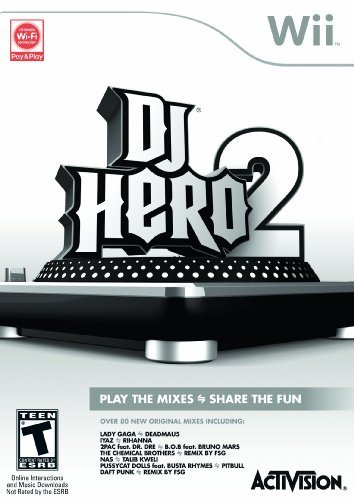 Wii Dj Hero 2 Software Only