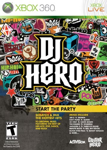 Xbox 360 Dj Hero Software Only