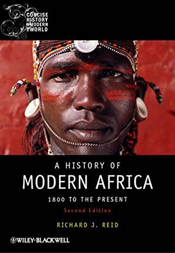 Richard J. Reid A History Of Modern Africa A New Agenda For Architecture 0002 Edition;revised