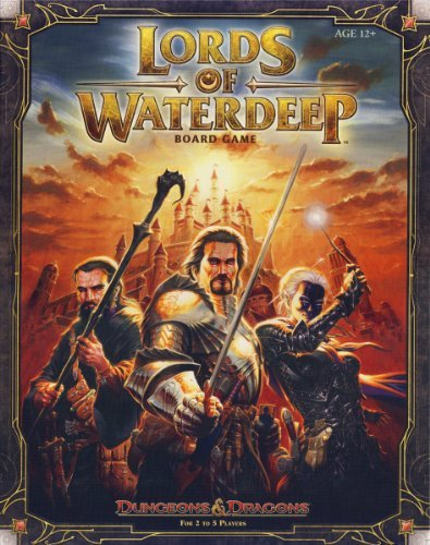 Wizards Rpg Team Lords Of Waterdeep A Dungeons & Dragons Board Game