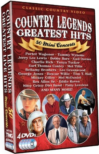 Country Music Legends 50 Mini Country Music Legends 50 Mini 4 DVD