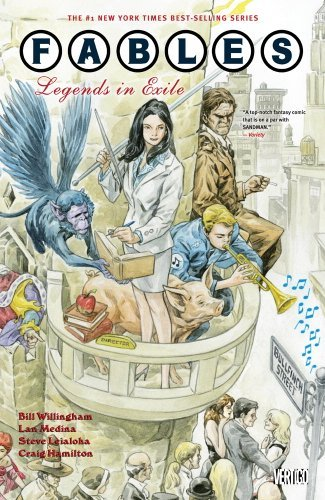 Bill Willingham Legends In Exile