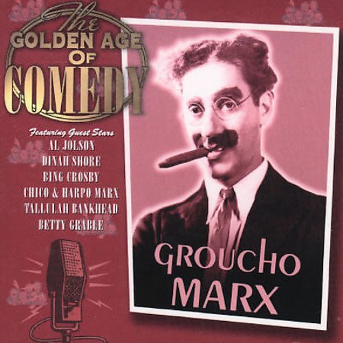 Groucho Marx Golden Age Of Comedy Import Gbr