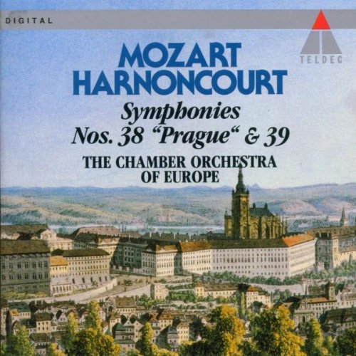 W.A. Mozart Sym 38 39 Harnoncourt Chbr Orch Of Europ