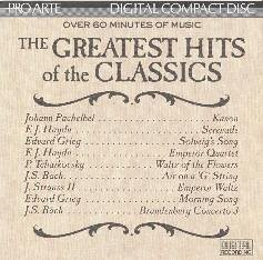Greatest Hits Of The Classics Greatest Hits Of The Classics