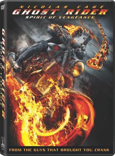 Ghost Rider Spirit Of Vengeanc Cage Nicholas Aws Pg13 Incl. Uv