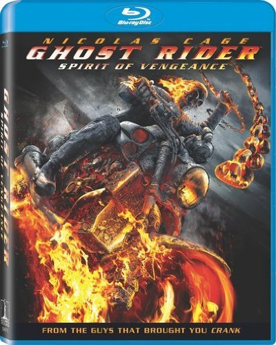 Ghost Rider Spirit Of Venganc Cage Nicholas Blu Ray Aws Pg13 Incl. Uv