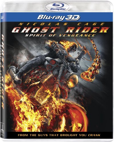 Ghost Rider Spirit Of Vengeance 3d Cage Nicholas Blu Ray Aws Pg13 Incl. Uv