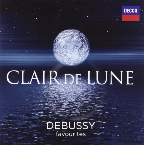 Clarie De Lune Debussy Favorites 2 CD