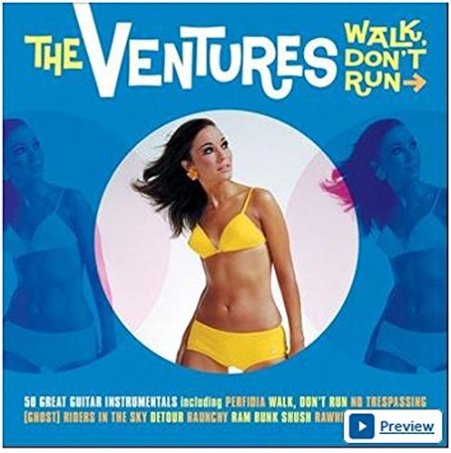 Ventures Walk Don't Run Import Gbr 2 CD