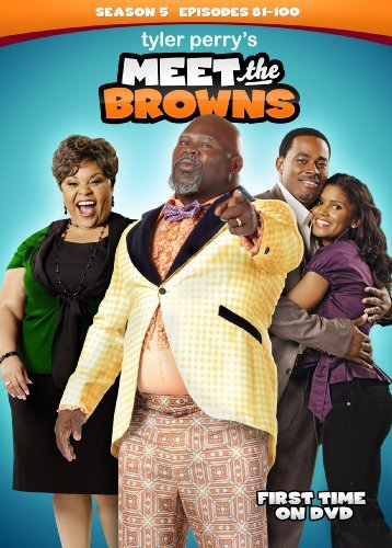 Meet The Browns Season 5 Tyler Perry DVD