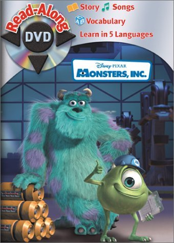 Read Along Monsters Inc.