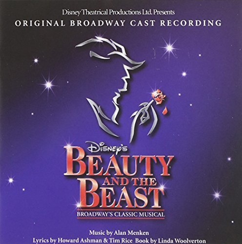 Cast Recording Beauty & The Beast Music By Alan Menken