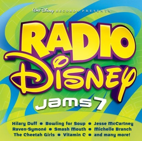 Radio Disney Vol. 7 Kids Jams Incl. Bonus DVD