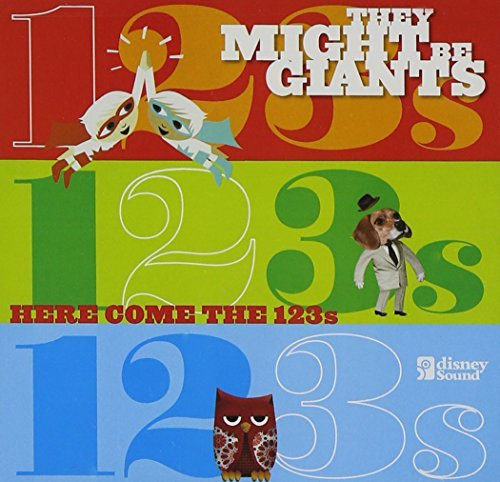 They Might Be Giants Here Come The 123s Incl. Bonus DVD