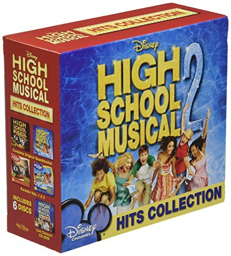Various Artists High School Musical Hits Colle 5 CD Incl. DVD