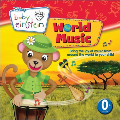 Baby Einstein World Music Enhanced CD