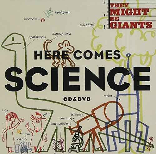 They Might Be Giants Here Comes Science Incl. Bonus DVD