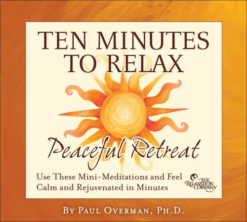 Paul Overman Ten Minutes To Relax Peaceful 2 CD Set