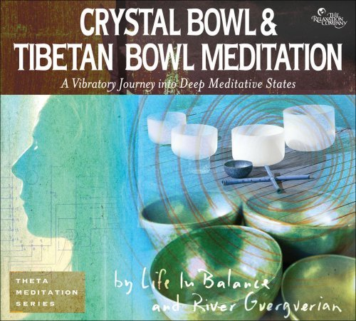 Life In Balance River Guerguer Crystal & Tibetan Bowl Meditat 2 CD Set