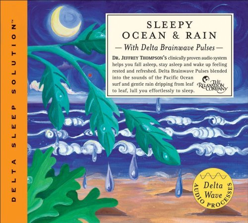 Dr. Jeffrey Thompson Sleepy Ocean & Rain 2 CD Set