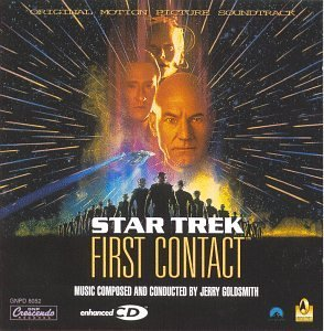 Star Trek First Contact Soundtrack Music By Jerry Goldsmith's