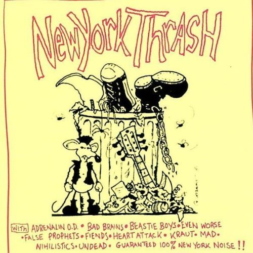 New York Thrash New York Thrash Beastie Boys Bad Brains Incl. Bonus Tracks