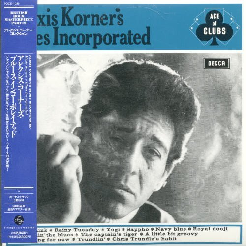 Alexis Korner Blues Incorporated (mini Lp Sl Import Jpn Paper Sleeve Incl. Bonus Track