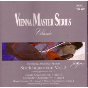 W.A. Mozart String Quartets Vol. 2
