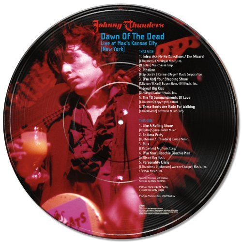 Johnny Thunders Dawn Of The Dead Live At Max'
