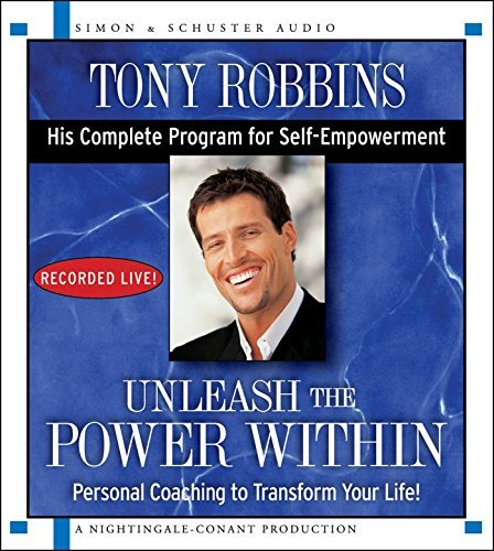Tony Robbins Unleash The Power Within Personal Coaching To Transform Your Life!