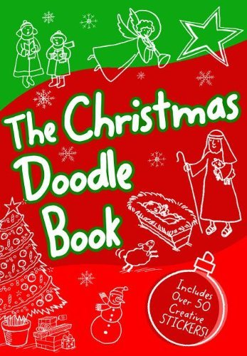 Amy Parker The Christmas Bible Doodle Book