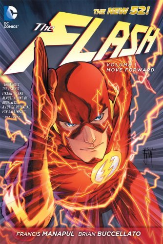 Francis Manapul The Flash Vol. 1 Move Forward (the New 52)