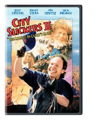 City Slickers 2 Legend Of Curly's Gold Crystal Stern Lovitz Palance DVD Pg13