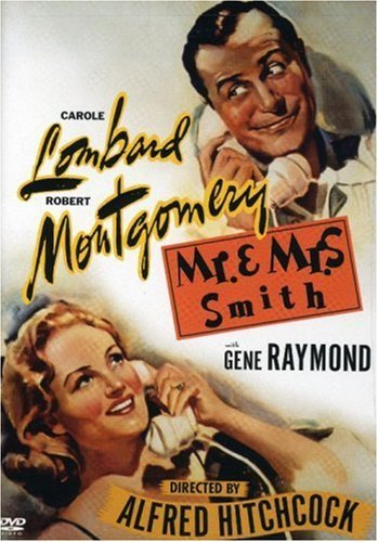 Mr. & Mrs. Smith Lombard Montgomery Raymond Car Bw Nr