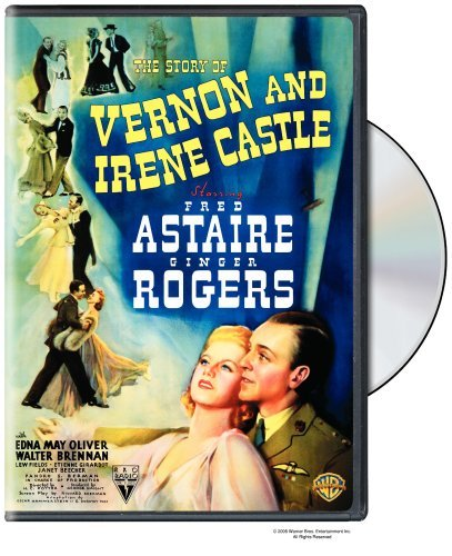 Story Of Vernon & Irene Castle Astaire Rogers Bw Nr