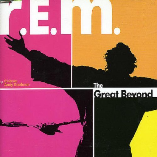 R.E.M. Great Beyond B W Man On The Moon