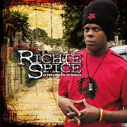 Richie Spice In The Streets To Africa Incl. DVD