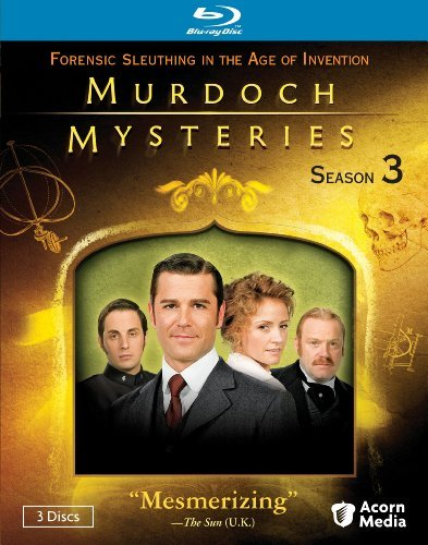 Murdoch Mysteries Season 3 Ws Blu Ray Nr 3 DVD