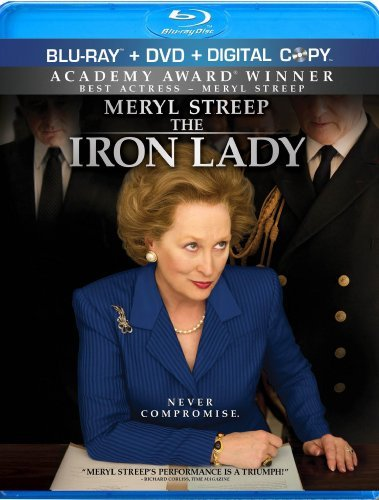 Iron Lady Streep Broadbent Blu Ray Ws Pg13 Incl. DVD Dc